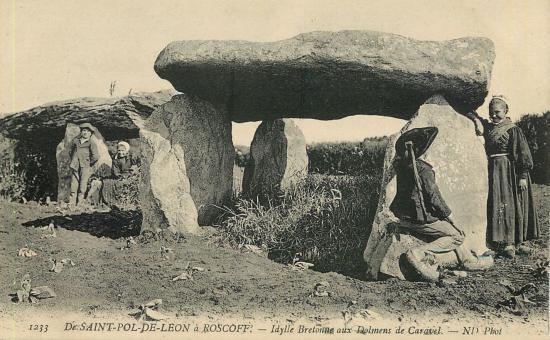dolmen de Caravel
