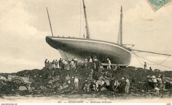 Le bateau échoué