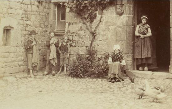 Personnages au manoir de Kersaliou