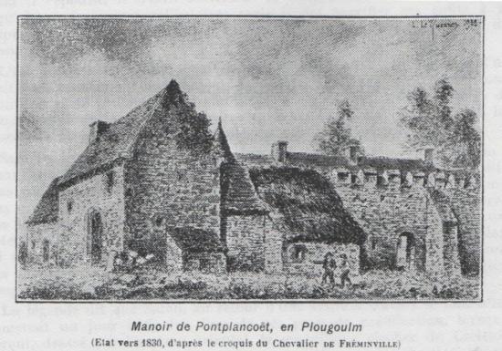 Pontplaincoat, Plougoulm
