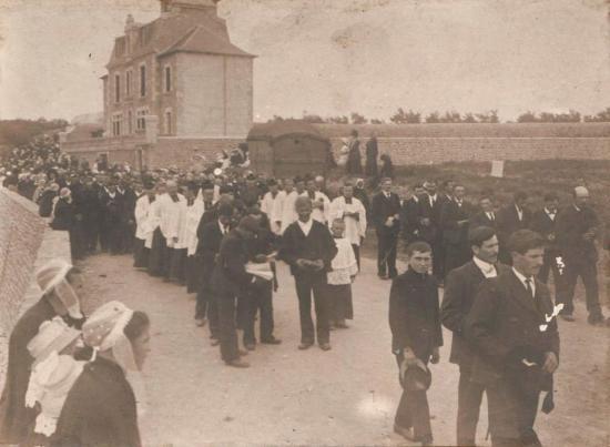 Procession à Roscoff